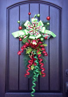 Christmas WreathWinter Wreath Holiday Decor by AnExtraordinaryGift, $85.00