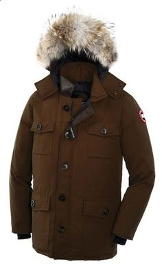 My winter style in Flare Magazine! Canada goose jacket, J. Canada Goose  Banff Parka Brown Mens