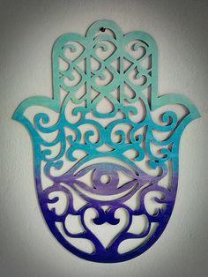 Metal Art, Wood Art, Hamsa Design, Yoga Studio Design, Wooden Wall Panels, Felt Crafts Diy, Hand Of Fatima, Elegant Home Decor, Stencil Patterns