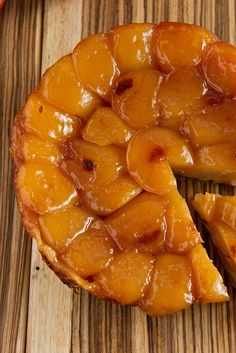 NYT Cooking: Tarte Tatin isn't as American as apple pie, but it's a whole lot easier. With just four ingredients, it's all about the apples: the lovely taste and shape of the fruit are preserved by sugar and heat, with a buttery-salty crust underneath. This recipe from Gotham Bar and Grill in New York has a couple of tricks that make it easier to pull off than others: dry t...