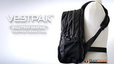"You   saved to   The VESTPAK™    The VESTPAK™ is a Patented Bulletproof Backpack for EVERYONE. In seconds, you are fully armored against most handgun and shotgun threats with all vital areas are protected. ""We created the VESTPAK™ & USAFE System with one simple yet vital purpose in mind: to protect lives."" Handgun, Black Pencil, Shotgun, Drawstring Backpack, Purpose, Backpacks, Simple, Bags, Fashion"