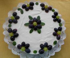 Mogyorókrémes-tejszínhabos palacsintatorta Recept képpel - Mindmegette.hu - Receptek Pudding, Cake, Food, Yogurt, Custard Pudding, Kuchen, Essen, Puddings, Meals