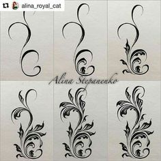 Community-Wandfotos - nailart how to - Henna Designs, Nail Art Designs, Jolie Nail Art, Doodle Drawing, Tole Painting, Nail Tutorials, Painting Patterns, Arabesque, Zentangle