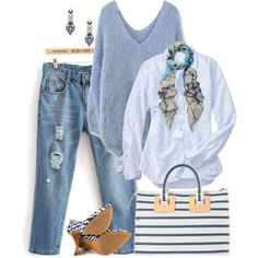 Sky Blue, created by lisa-holt on Polyvore