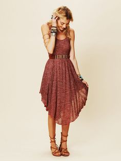 There is no denying it.....this dress is adorable.... Free People Starry Night Dress