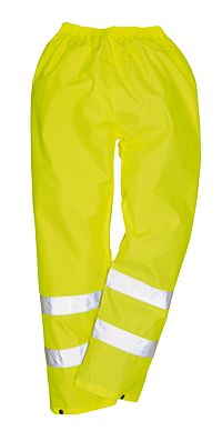 Hearty Hi Viz Super B-dri Workwear Yellow Coverall Waterproof Hooded Breathable Suit Men's Clothing