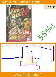 Jewel Quest III [import anglais] (CD-Rom). Réduction de 55%! Prix actuel 8,16 €, l'ancien prix était de 18,22 €. http://www.adquisitio.fr/avanquest/jewel-quest-iii-import