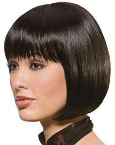 Nice styled wig, i like it