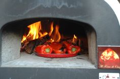 Cooking roasted peppers ... what a smell!!!