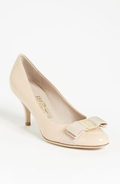 Salvatore Ferragamo 'Carla' Pump available at #Nordstrom