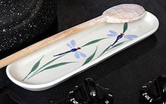 spoon rests | Ceramic Spoon Rests: Made in the USA and Lead-Free | Emerson Creek ...