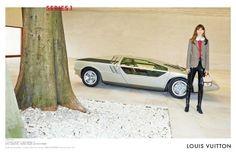 Freja Beha Eirchsen para Louis Vuitton (Foto: Reprodução)