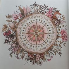 Johanna Basford | Picture by Anne M. | Colouring Gallery