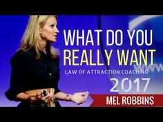 Success and Freedom: Mel Robbins What Do You Really Want? (entrepreneur...