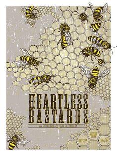 GigPosters.com - Heartless Bastards - Dana Falconberry - Futurebirds
