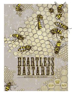 GigPosters.com - Heartless Bastards - Dana Falconberry - Futurebirds