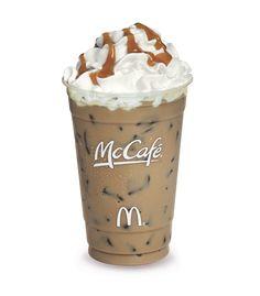 My favorite drink from McDonald's...Iced Caramel Mocha!! Yum!!