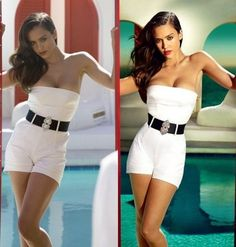 This is an interesting look at celebrities photos before and after photoshop. These images are mostly used in magazines, posters and given the photoshop treatment from their original source. Photoshop Fails, Photoshop Tutorial, Photoshop Images, Funny Photoshop, Photoshop Ideas, Fitness Before And After Pictures, Before And After Photoshop, Celebrities Before And After, Weight Loss Pictures