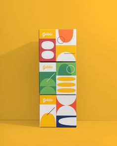 Gobble — Scott Snyder Gobble Packaging via Scott Snyder Photography — Branding & Packaging Design by Studio Mast Fruit Packaging, Toy Packaging, Food Packaging Design, Packaging Design Inspiration, Brand Packaging, Product Packaging Design, Product Branding, Food Branding, Coffee Packaging