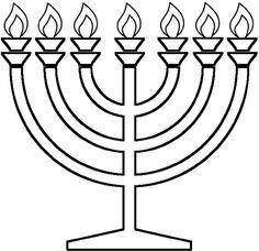 Hanukkah Coloring Pages Menorahs coloring pages Pinterest