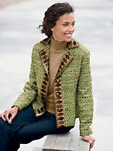 Creative Expressions Tweed Jacket and other Womens Jackets.   Appleseeds