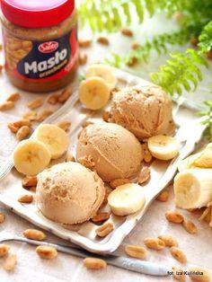 domowe-lody-weganskie-z-masla-orzechowego-bananow-i-mleka-kokosowego Veggies, Ice Cream, Sweets, Food, Diet, No Churn Ice Cream, Goodies, Icecream Craft, Meals