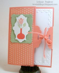 LeAnne Pugliese WeeInklings Easter Stampin Up Scallop Tag Topper Punch - Stampin' Connection
