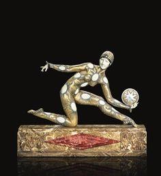 Totum Revolutum: Art Déco: Demetre Chiparus y sus bailarinas criselefantinas.