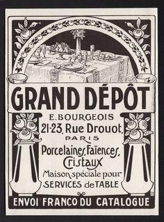 PUB GRAND DEPOT AD 1923