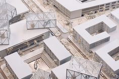 Architectural Model | Expo Urbanism | Yale School of Architecture