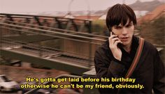 lol tony was such an ass but i loved it (: skins UK Skins Quotes, Tv Quotes, Movie Quotes, Skins Generation 1, Skin Tips, Skin Care Tips, Skin Aesthetics, Skins Uk, Jokes Pics
