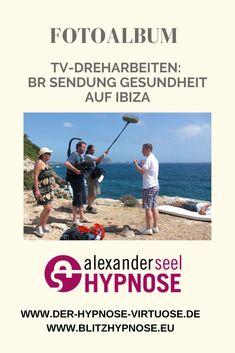 Showhypnose - Fotos der TV-Dreharbeiten auf Ibiza zum Thema für die BR Sendung Gesundheit mit Hypnotiseur Alexander Seel. Gefilmt wurde eine Raucherentwöhnung, Sporthypnose, Showhypnose und Straßenhypnose.  #hypnose #hypnoseshow #sporthypnose #raucherentwöhnung #straßenhypnose #showhypnose #hypnotiseur #alexanderseel