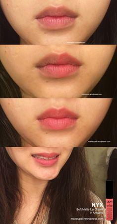 Nyx Soft Matte Lip Cream, Matte Lips, Make Makeup, Skin Makeup, Makeup Names, Ulzzang Makeup, Natural Lip Colors, Ombre Lips, Aesthetic Makeup