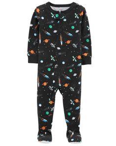bd3ff071810 1-Piece Space Snug Fit Cotton PJs. Baby Boy ...