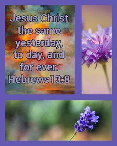 Hebrews 13:8 KJV
