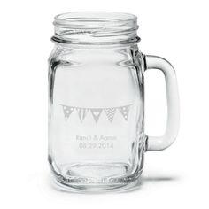 Mason Jar Wedding Favors on http://itsabrideslife.com