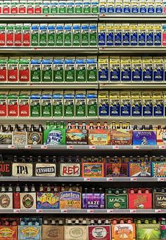 Choices - Richard Stultz Photography.  Looks rather like a mosaic of food products.