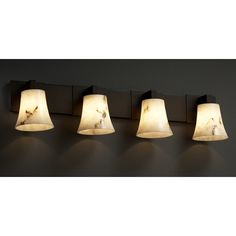 Justice Design Group Lumenaria Collection Bathroom Light at Destination Lighting