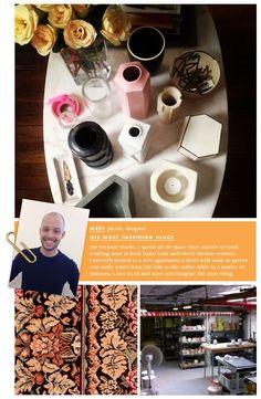 meet jacob, our home designer (kate spade new york home)