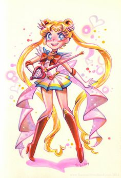 Awesome Sailor Moon fan art 🙂 little–root.tumb… Awesome Sailor Moon fan art 🙂 little–root. Sailor Moons, Sailor Jupiter, Arte Sailor Moon, Sailor Moon Fan Art, Sailor Moon Usagi, Sailor Neptune, Sailor Venus, Sailor Scouts, Sailor Moon Kristall