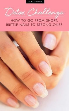 We put our nails through a lot and before we know it, they're brittle and constantly breaking. We put together an easy to follow 10 day detox challenge that will transform your nails into strong, healthy ones! Follow our nail guide now!