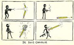 """""""Non sono d'accordo con quello che dici, ma darei la vita affinché tu lo possa dire"""" (cit.) #JeSuisCharlie"""