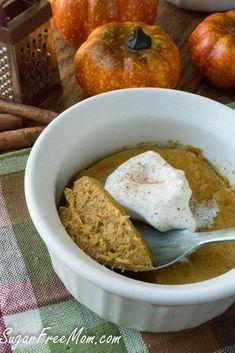 pumpkin custard - gluten free