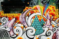 Graffiti by Highraff @Batman's Alley in Sao Paulo