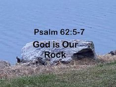 GOD Morning from, Trinity TX Today is Tuesday 9-28-2021 Day 271 in the 2021 Journey Make It A Great Day, Everyday! God is Our Rock! Today's Scripture: Psalm 62:5-7 (NKJV) My soul, wait silently for God alone, For my expectation is from Him. He only is my rock and my salvation; He is my defense; I shall not be moved. In God is my salvation and my glory; The rock of my strength, And my refuge, is in God. Psalm 62 5, Psalms, Scripture For Today, Today's Scripture, We Rock, Jan 1, God, Tuesday, Strength