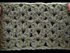 How to Crochet a Cluster V Stitch - Blanket Crochet Geek - YouTube