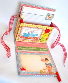 scrapbook, idea, gift, kitchen