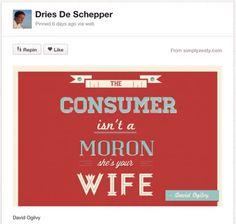 La segunda vida de David Ogilvy en Pinterest