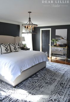 home_decor - 38 Small Master Bedroom Renovation for This Winter Small Master Bedroom, Master Bedroom Design, Modern Bedroom, Bedroom Designs, Masculine Master Bedroom, Master Bedrooms, Contemporary Bedroom, Modern Wall, Master Suite