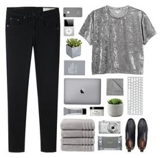 """an ending fitting for the start"" by acquiescence ❤ liked on Polyvore featuring rag & bone, Monki, Christy, Dermalogica, philosophy, Nikon, Pier 1 Imports, Incase, Stila and Vellux"